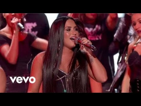 download lagu Demi Lovato - Sorry Not Sorry Live From The 2017 American  Awards gratis