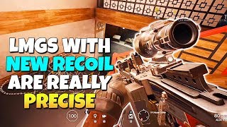 LMGs With New Recoil Are So Precise! - Operation Grim Sky | Rainbow Six Siege TTS
