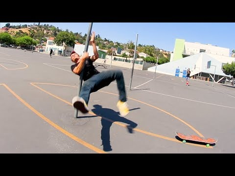 Weirdest Skate Fall Ever!? (How Does This Happen?!)