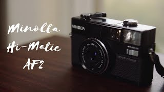 The Minolta Hi-Matic AF2 Review - The early days of autofocus...