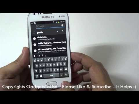 Samsung Galaxy S Duos Tips. Hidden Features and Helps Part 2