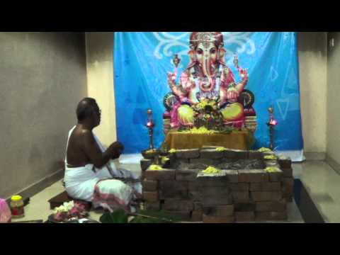 54 Ganesha Series - 2 Dwija Ganapathy Homam Part 1 Vedicfolks video