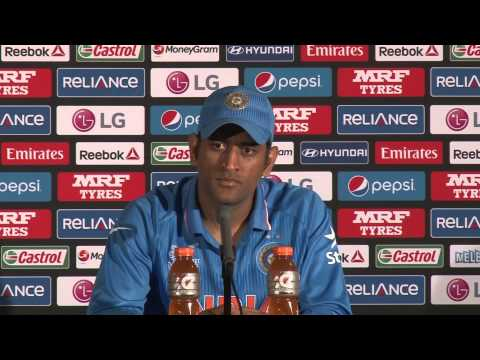 MS Dhoni Post Match Press Conference VS South Africa (22/2/15)