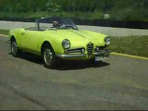 1961 Alfa Romeo Giulietta Spider. Alfa Romeo Giulietta Spider