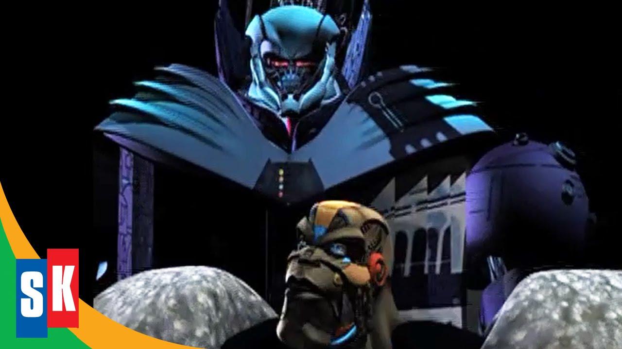 Optimus Primal vs Megatron