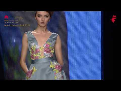 Abed Mahfouz S\S 2016 - Arab Fashion Week