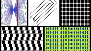 5 Most Amazing Optical Illusions | MS Paint Tutorial