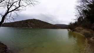 Озеро Сукко и кипарис болотный.