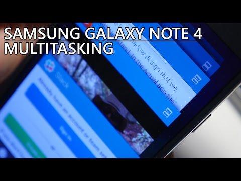 Samsung Galaxy Note 4: Multitasking