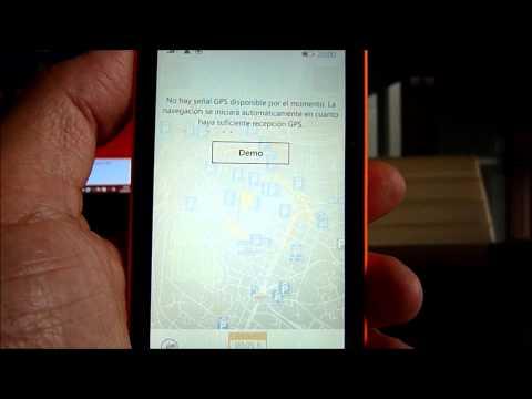 LUMIA 435. su uso  como Gps offline para viajeros...