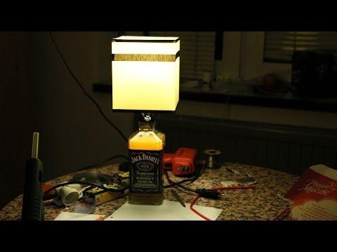 Jak Zrobić Lampkę Jack Daniels