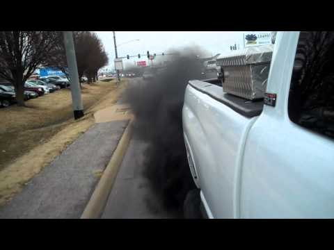 Rollin the COAL IN THE CUMMINS!