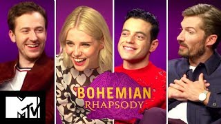 Bohemian Rhapsody Cast Play Who Said It: Queen or The Queen? | MTV MOVIES