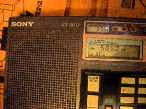Preacher screaming on 5050 khz