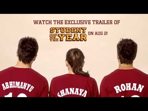 Trailer Launch On 2nd Of August - Student Of The Year video