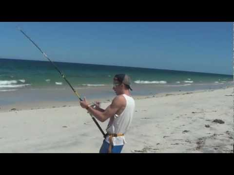 Land based shark fishing Australia