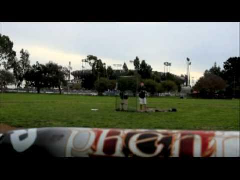 Evil Bp Balls- Demarini Phenix Bp Hitting video
