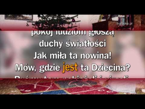 Kolęda - Wesołą Nowinę (karaoke)
