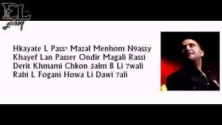 Reda Taliani 2013 Va Bene Babini) Paroles Lyrics HD.