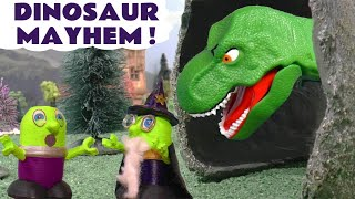 Funny Funlings Dinosaur Mayhem with Cars 3 Lightning McQueen and Thomas The Train