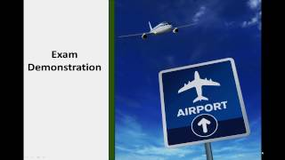 CAA ATPL Exam - Video Demonstration