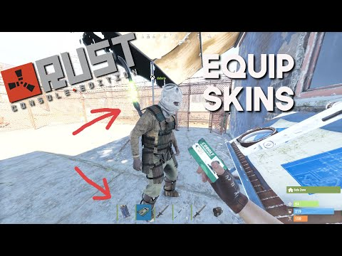 RUST 🏹 Skins Guide | RUST Console Official server Xbox one/PS4