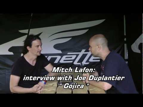 Video Interview with Gojira guitarist and lead singer Joe Duplantier