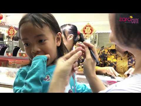 Pengalaman Pertama Zara Cute memakai Anting | Zara's First Earring
