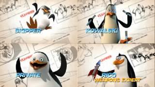 Pingwiny z Madagaskaru - Wszystkie piosenki! (Prawie...)
