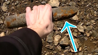 RIVER Treasure! Found Incendiary BOMB??? Metal Detecting Beach Finds