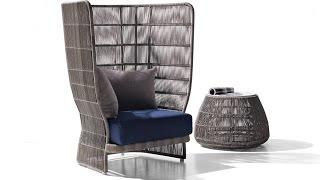 Sản xuất khung sắt sofa mây nhựa cao cấp