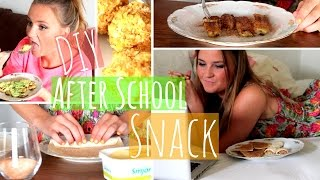 Delicious DIY After School Snack Ideas