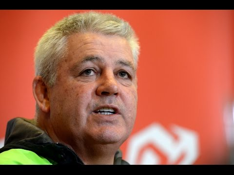 Gatland talks Ireland