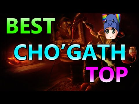 BEST CHO'GATH TOP WORLD.. PROBABLY - Full Gameplay Commentary