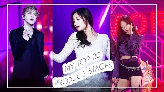 MY FAVORITE 20 Produce stages