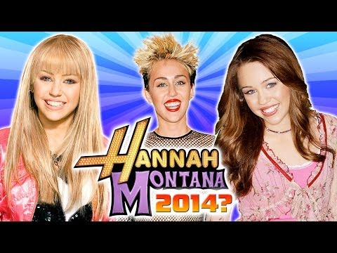 New Hannah Montana Movie For Miley Cyrus?! New Year's Predictions For 2014! video