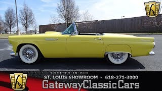 #7650 1955 Ford Thunderbird - Gateway Classic Cars St. Louis