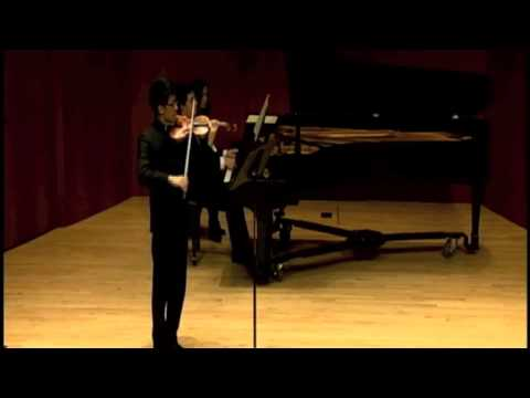 Ravel: Sonata for Violin and Piano in G major - II. Blues moderato