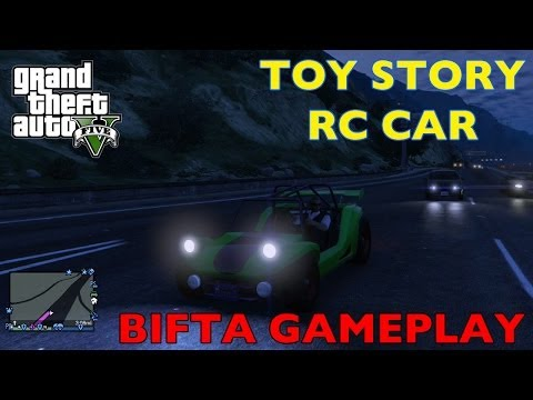 GTA V ONLINE - TOY STORY RC CAR FUN (Bifta) - Grand Theft Auto 5 Fun Moments / L