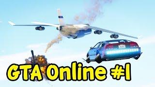 GTA 5 Online - Phi vụ lái xe bay đuổi theo máy bay đánh cắp dữ liệu | ND Gaming