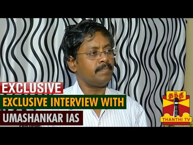 """Exclusive Interview with Umashankar IAS - """"Will Continue Preaching & Propagating Religion"""""""