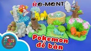 Bộ sưu tập Pokemon để bàn Diorama Desktop Figure, đã đẹp lại còn hữu dụng ToyStation 220