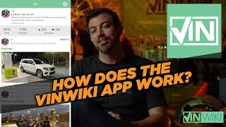 How does the VINwiki app work?