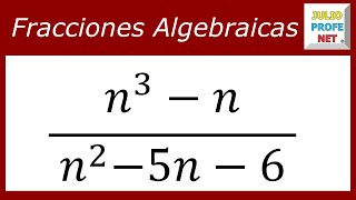 Simplificacin de Fracciones Algebraicas