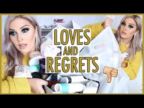 65+ Empties. Reviews & Regrets! 🤔💕 HOLY GRAIL & CRAP Products!
