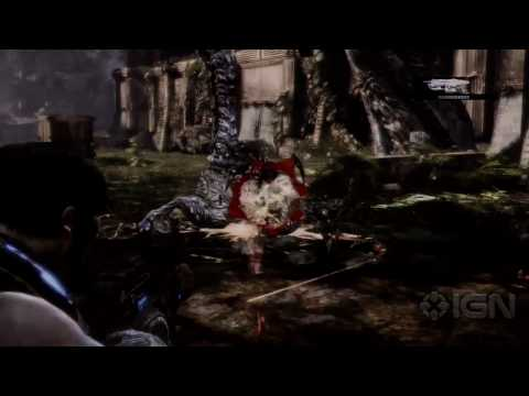 ‪Gears of War 3 Demo - E3 2010 Microsoft Conference‬‏
