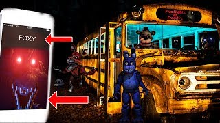 (PURPLE GUY IS COMING?!) CALLING FOXY THE PIRATE ON FACETIME AT 3 AM   FREDDY CHICA & BONNIE APPEAR!