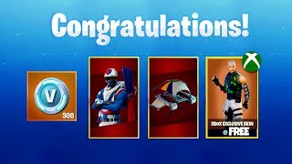 "How To Unlock ""Alpine Ace (KOR)"" AND XBOX EXCLUSIVE ""FREE"" SKINS - (Fortnite Battle Royale)"