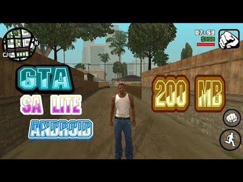 CARA MENDOWNLOAD DAN MENGINSTAL GAME GTA SA LITE ANDROID ALL GPU 200 MB