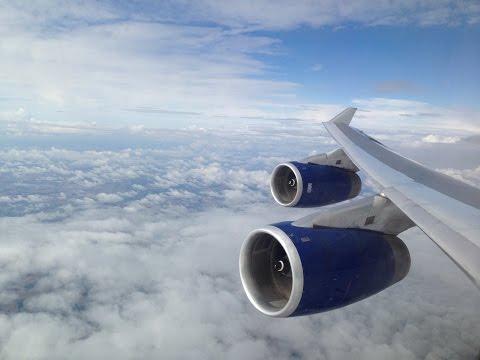 British Airways 747-436. Miami ✈ London Heathrow